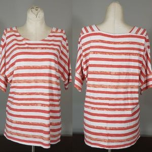 GAP Soft Knit Pull Over Top Size Medium